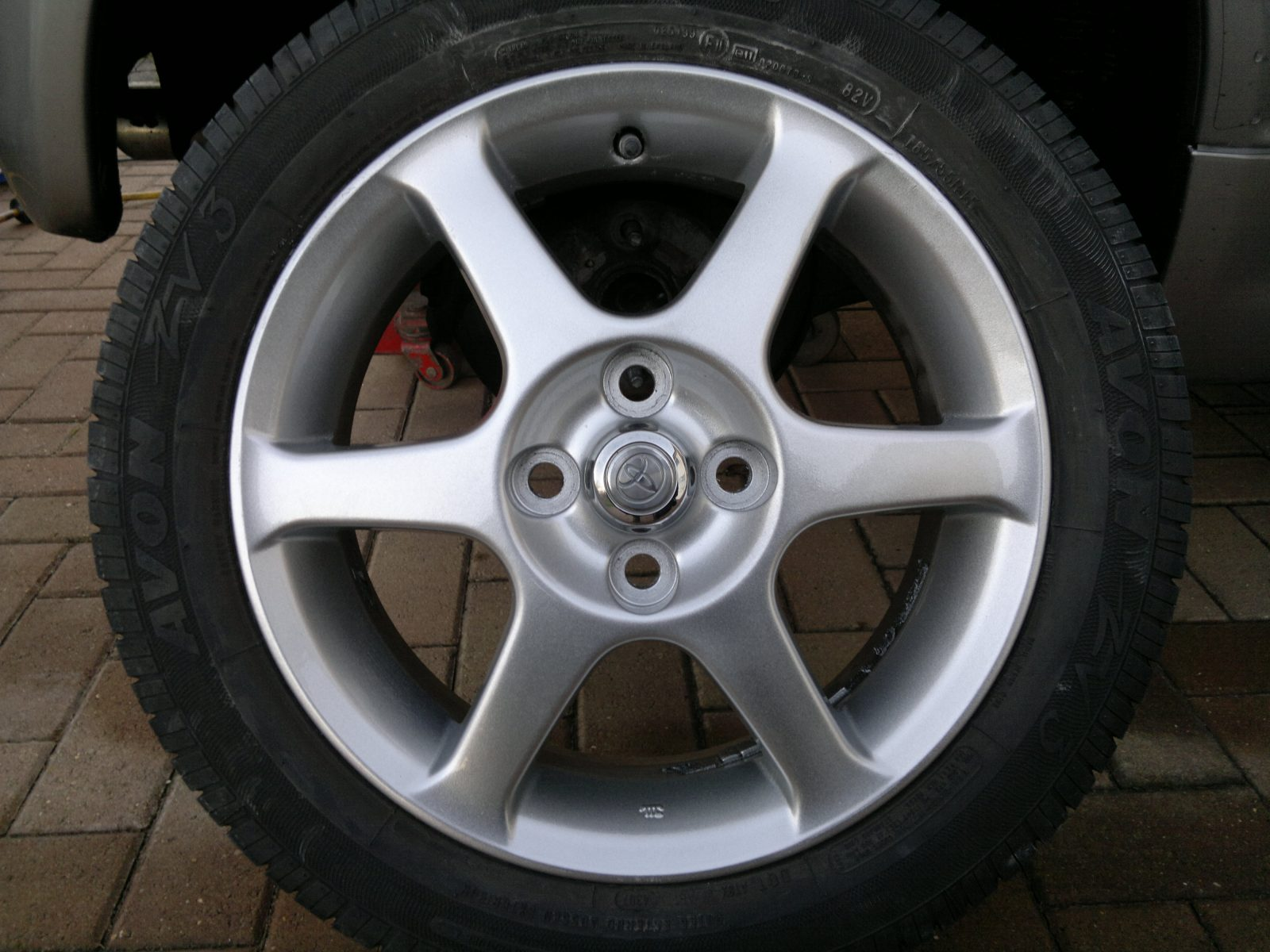 Kia Alloy Wheel Refurbishment